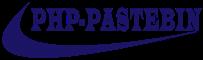PHP-PASTEBIN